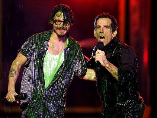 johnny depp 2011 kca. Johnny Depp amp; Ben Stiller